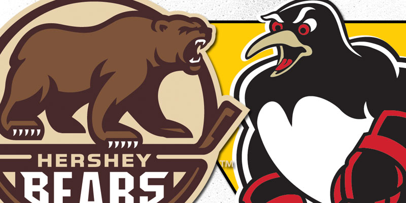 Hershey vs Penguins