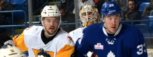 PENGUINS DOWNED BY MARLIES, 3-0