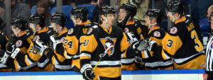 PENGUINS DELIVER GUTSY 3-1 WIN OVER PROVIDENCE