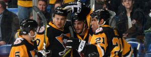 PENGUINS WIN BIG AGAINST PHANTOMS AGAIN, 5-1