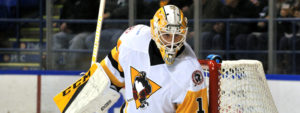 PENGUINS CLOSE OUT COMETS, 2-1