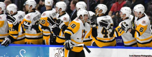 PENGUINS CRUISE TO 5-1 WIN AT SYRACUSE