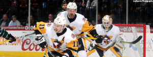 PENGUINS WIN FIRST GAME OF BACK-TO-BACK WITH PHANTOMS