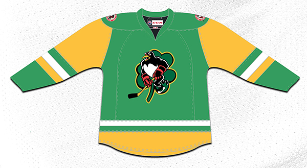 St. Patrick s Day Celebration Wilkes-Barre Scranton Penguins 69f301e73