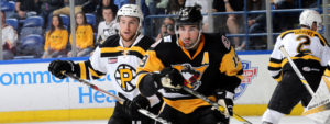 PENGUINS FALL IN GAME FOUR TO BRUINS, 4-2