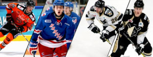 PENGUINS ADD FOUR DEFENSEMEN
