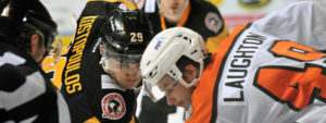 PENGUINS FALL IN SHOOTOUT TO PHANTOMS, 2-1