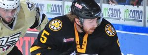 WARSOFSKY NO STRANGER TO PENS-BRUINS PLAYOFF RIVALRY