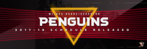 PENGUINS REVEAL REGULAR SEASON SCHEDULE FOR 2017-18