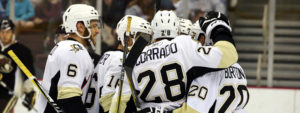 CORRADO GIVES PENGUINS 3-2 OVERTIME VICTORY IN HERSHEY