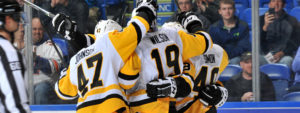 PENGUINS BEAT BEARS, 3-2, AND WIN FOURTH-STRAIGHT