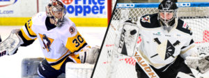 GOALIES PETERS, MORRISON SIGNED TO PTOs