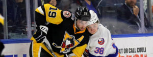 PENGUINS FORCE OVERTIME, BUT LOSE TO SOUND TIGERS, 3-2