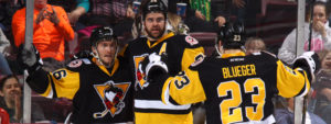 PENGUINS DROP FOUR GOALS ON BEARS IN SUNDAY VICTORY