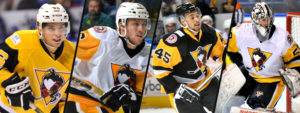 PENGUINS ANNOUNCE FOUR ROSTER MOVES