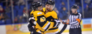 PENGUINS TAKE DOWN THUNDERBIRDS, 4-2