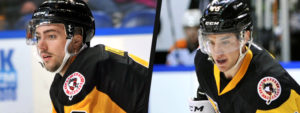 TAYLOR AND TIFFELS REASSIGNED TO PENGUINS FROM NAILERS