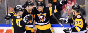 PENGUINS DOWN DEVILS IN OVERTIME, 4-3