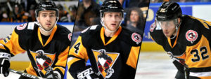 WILKES-BARRE/SCRANTON GETS TAYLOR, ZINK AND SCHULZE FROM WHEELING
