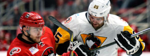 PENGUINS LOSE TO CHECKERS, 3-1