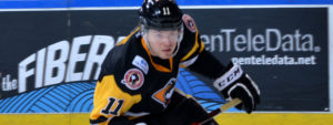 PENGUINS DROP 4-3 CONTEST TO DESPERATE SOUND TIGERS
