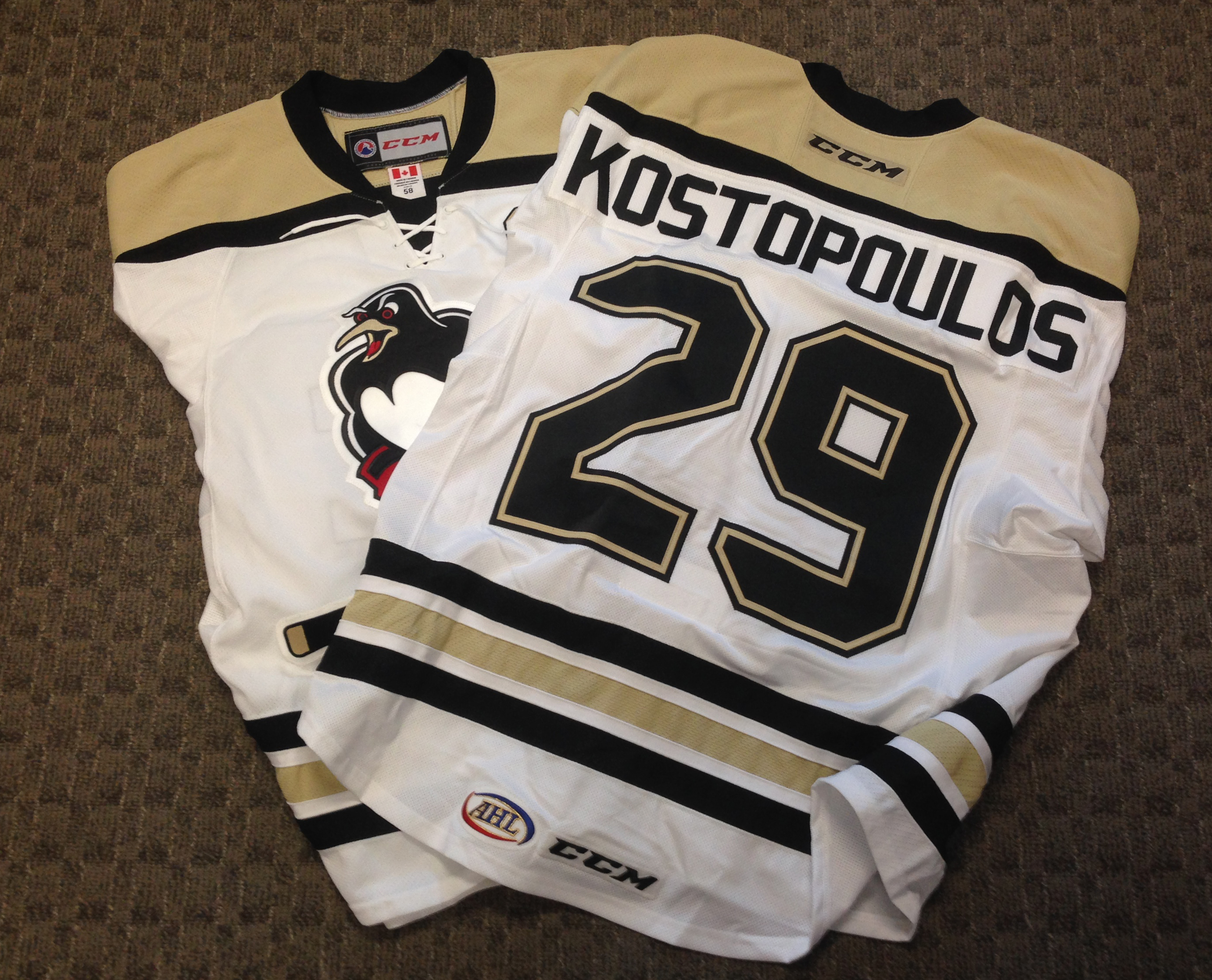 Fans will have the chance to get their hands on some very unique Wilkes- Barre Scranton Penguins jerseys when the Penguins GOALS Foundation hosts  its third ... 2e685ea7a