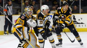 PENGUINS LOSE TO P-BRUINS IN OT, 2-1