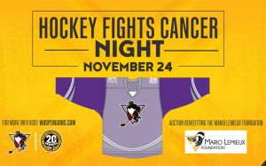 PENGUINS PARTNER WITH HOCKEY FIGHTS CANCER™