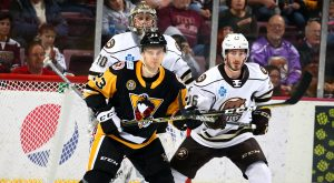 PENGUINS LOSE CLOSE ONE TO BEARS, 3-2