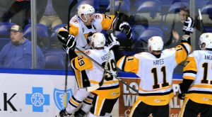 PENGUINS PULL OFF ANOTHER COMEBACK, WIN 4-3 IN OVERTIME
