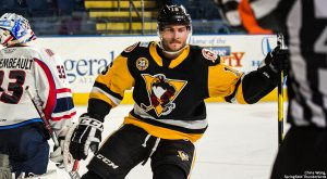 PENGUINS VICTORIOUS IN SHOOTOUT AT SPRINGFIELD, 2-1