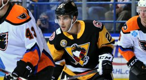 PENGUINS FALL TO PHANTOMS, 5-3