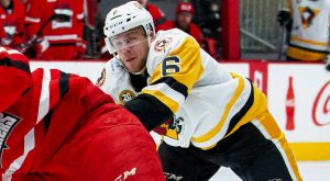 PENGUINS TAKE DOWN CHECKERS, 5-1