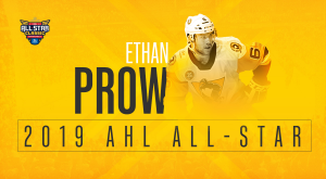 PENGUINS' ETHAN PROW NAMED TO AHL ALL-STAR CLASSIC