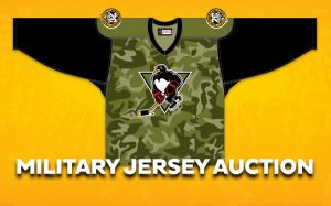MILITARY JERSEY AUCTION TAKES PLACE THIS WEEKEND ON DASH