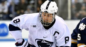 PENGUINS INK PENN STATE'S CHASE BERGER