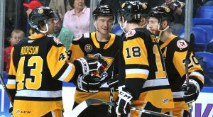 PENGUINS VICTORIOUS IN SEASON FINALE, 5-2