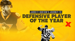 JARRETT BURTON'S JOURNEY TO DEFENSIVE PLAYER OF THE YEAR