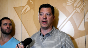 GM GUERIN GIVES HIS THOUGHTS ON VELLUCCI HIRE