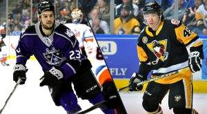 PENGUINS SIGN FORWARDS JAMIE DEVANE AND YUSHIROH HIRANO