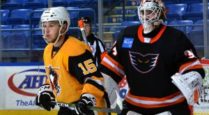 PENGUINS LOSE TO PHANTOMS IN PRESEASON OPENER, 4-1