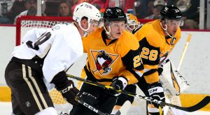 PENGUINS DROP PRESEASON GAME TO BEARS IN OVERTIME, 2-1