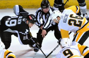 PENGUINS LOSE TO RAMPAGE, 5-3