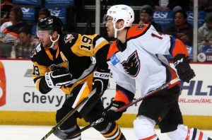 PENGUINS FALL TO PHANTOMS, 4-1