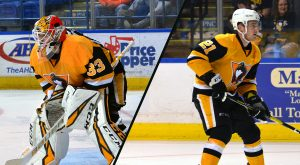 D'ORIO AND SCARFO REASSIGNED TO WHEELING