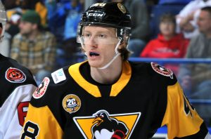 JAN DROZG JOINS PENGUINS FROM WHEELING