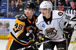 PENGUINS LOSE IN SHOOTOUT TO BEARS, 2-1