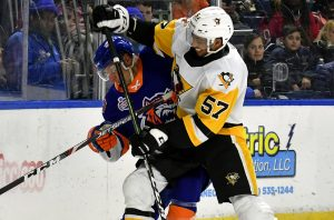 PENGUINS DROP 3-2 GAME IN BRIDGEPORT