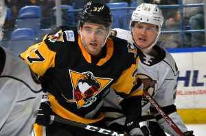 PENGUINS SHUT-OUT BY HERSHEY, 3-0