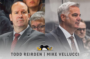 MIKE VELLUCCI, TODD REIRDEN HIRED AS ASSISTANTS BY PITTSBURGH